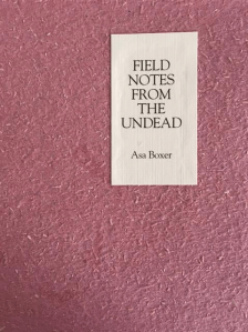 Notes from the Undead